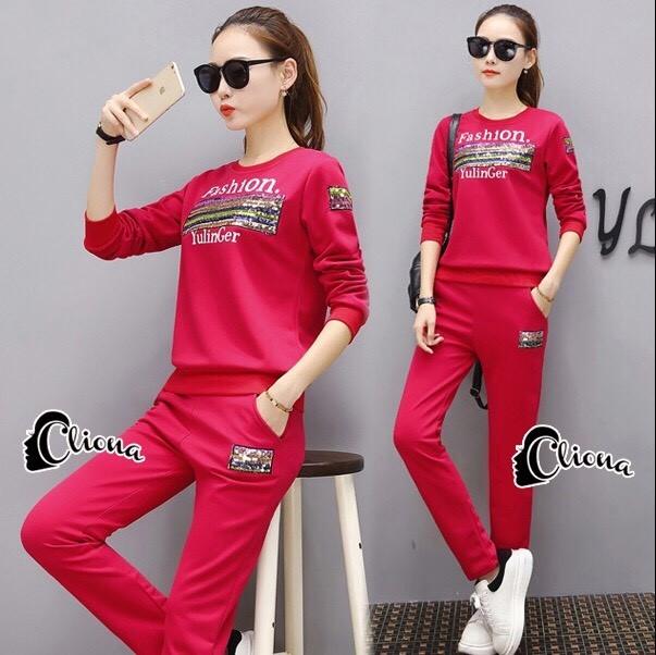 เสื้อผ้าเกาหลี พร้อมส่ง เสื้อลาย Fashion YulinGer