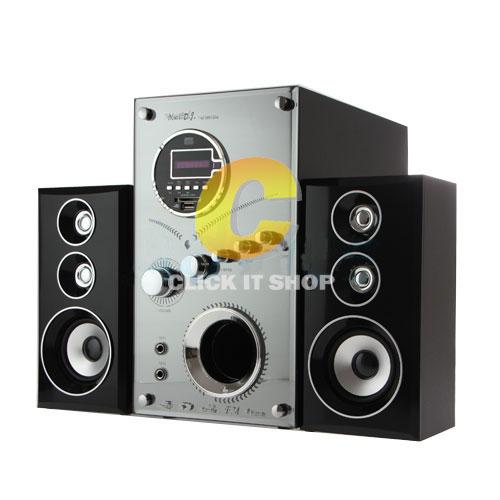 ลำโพง 'Music D.J.(M-M9100A) + BLUETOOTH, FM,USB