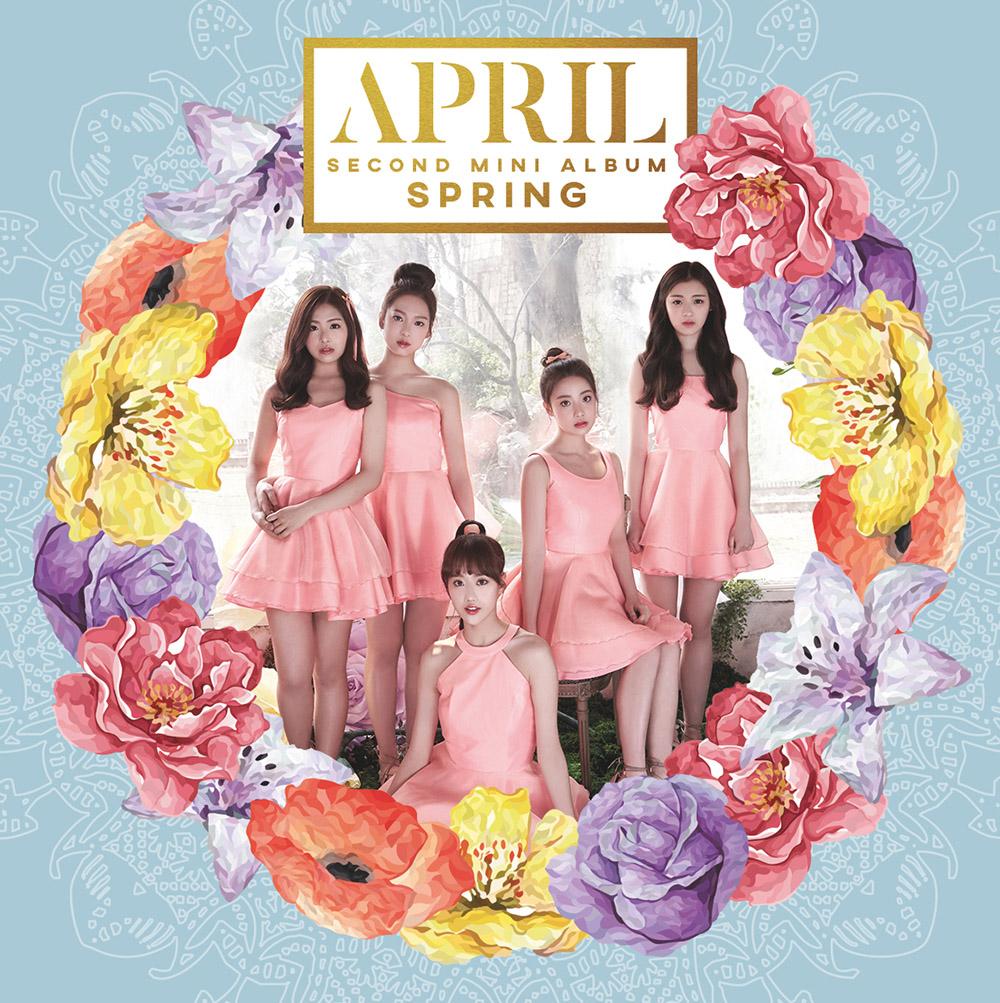 [Pre] APRIL : 2nd Mini Album - Spring +Poster