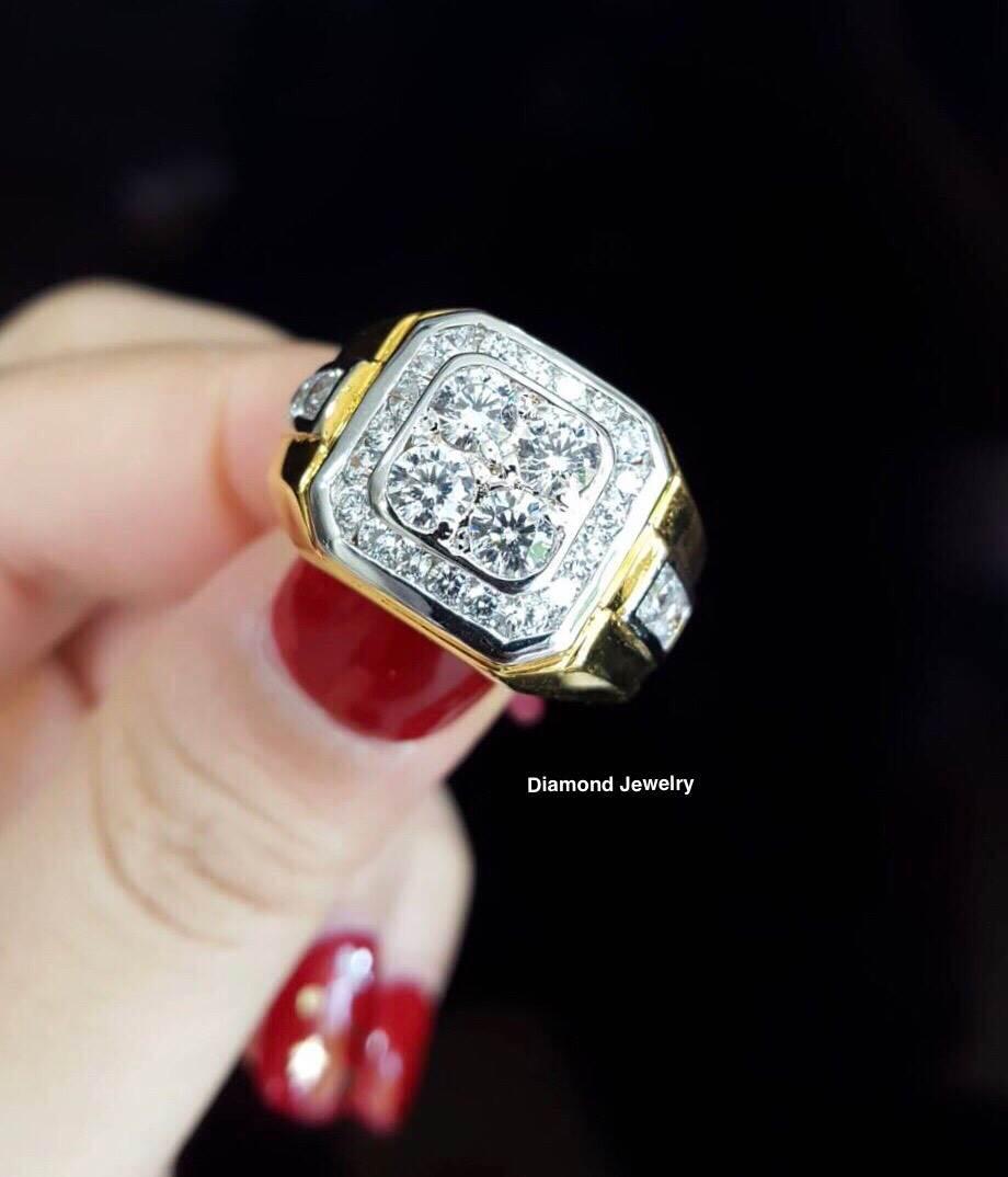 พร้อมส่ง Diamond Ring เพชรสวิส
