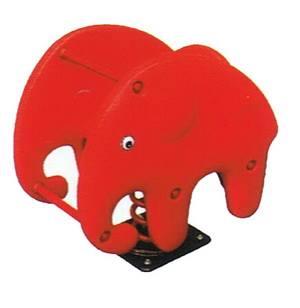 2045 โยกเยกสปริงช้างแดง SIZE:46X65X65 cm.