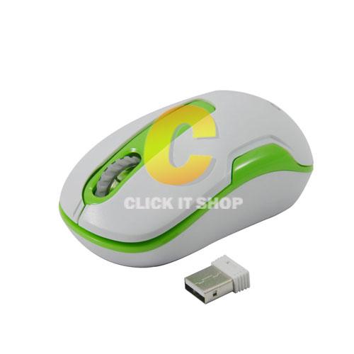 Wireless Mouse OKER (G11) Green/White
