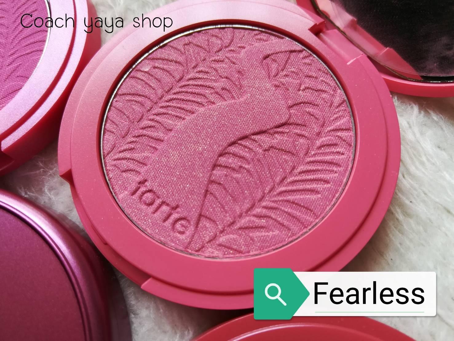 **พร้อมส่งค่ะ +ลด 50%** Tarte Amazonian Clay 12-hour blush Fearless ( สี Fearless )