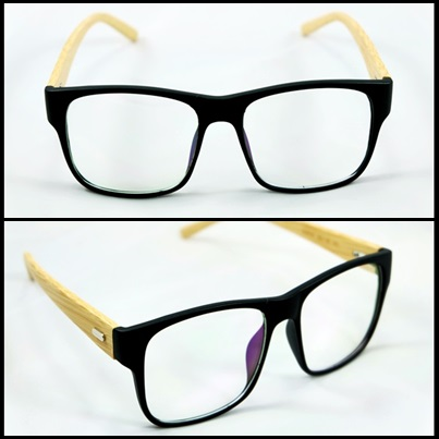 กรอบแว่นตา LENMiXX BigBlack Wood