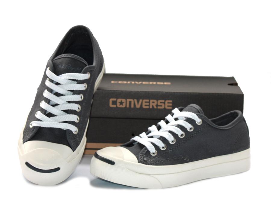 รองเท้า Converse Jack Purcell สีเทาดำ ผู้ชาย ผู้หญิง Shoes Size 36-44 พร้อมกล่อง