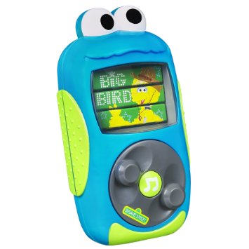 zSesame Street Cookie Monster MP3 Player.
