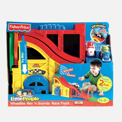 zFisher Price Little People Rev'n Sound Race Track.