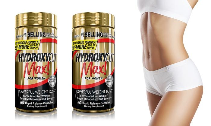 **พร้อมส่ง+ลด 30 %** HYDROXYCUT MAX FOR WOMEN 120 เม็ด