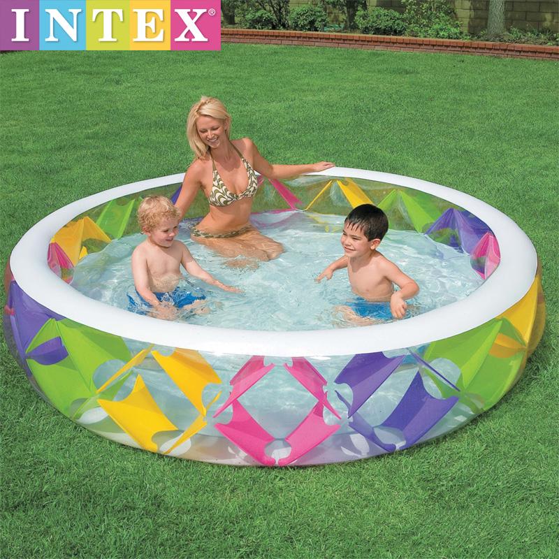 สระน้ำเป่าลม สีรุ้ง [Intex-56494]