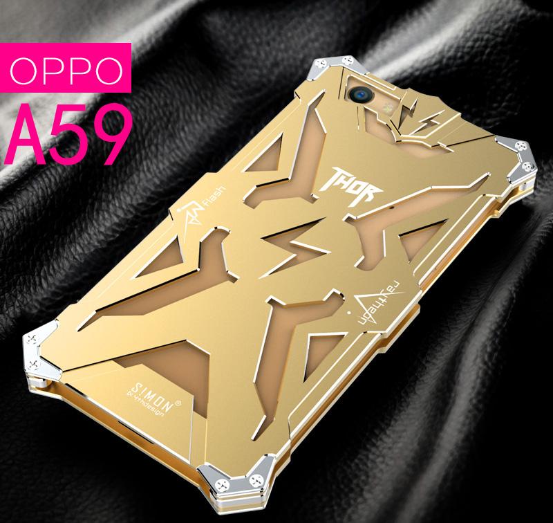 เคสมือถือ Oppo F1s - เคสโลหะประกอบ Simon [Pre-Order]