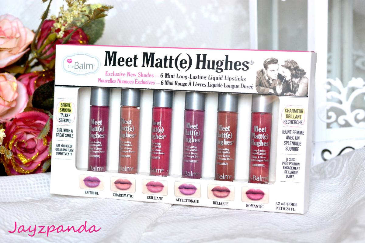 เฉดสีใหม่ The Balm Meet Matte Hughes 6 Mini