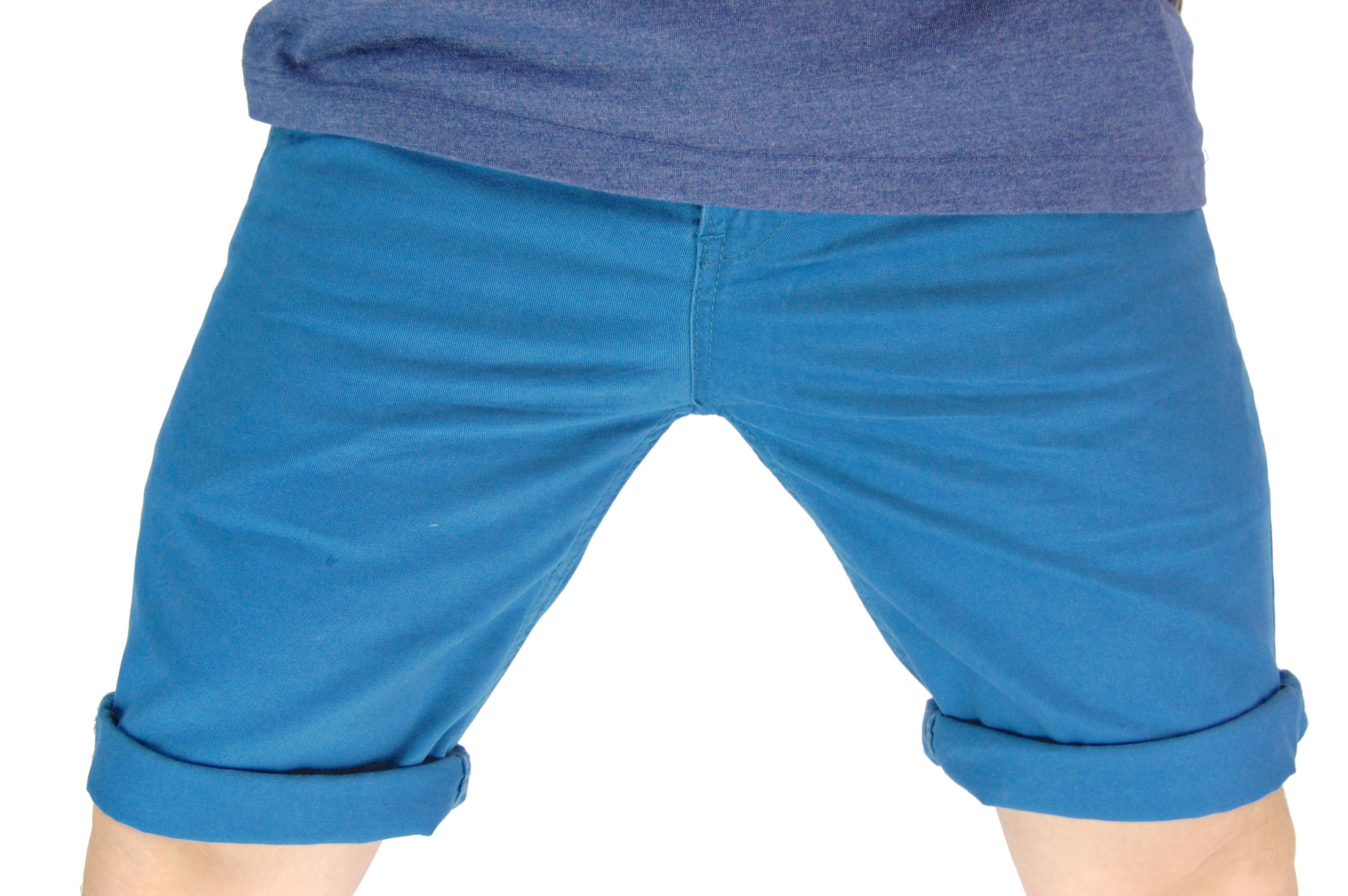 กางเกงขาสั้น สีฟ้าเข้ม NT28-3--5