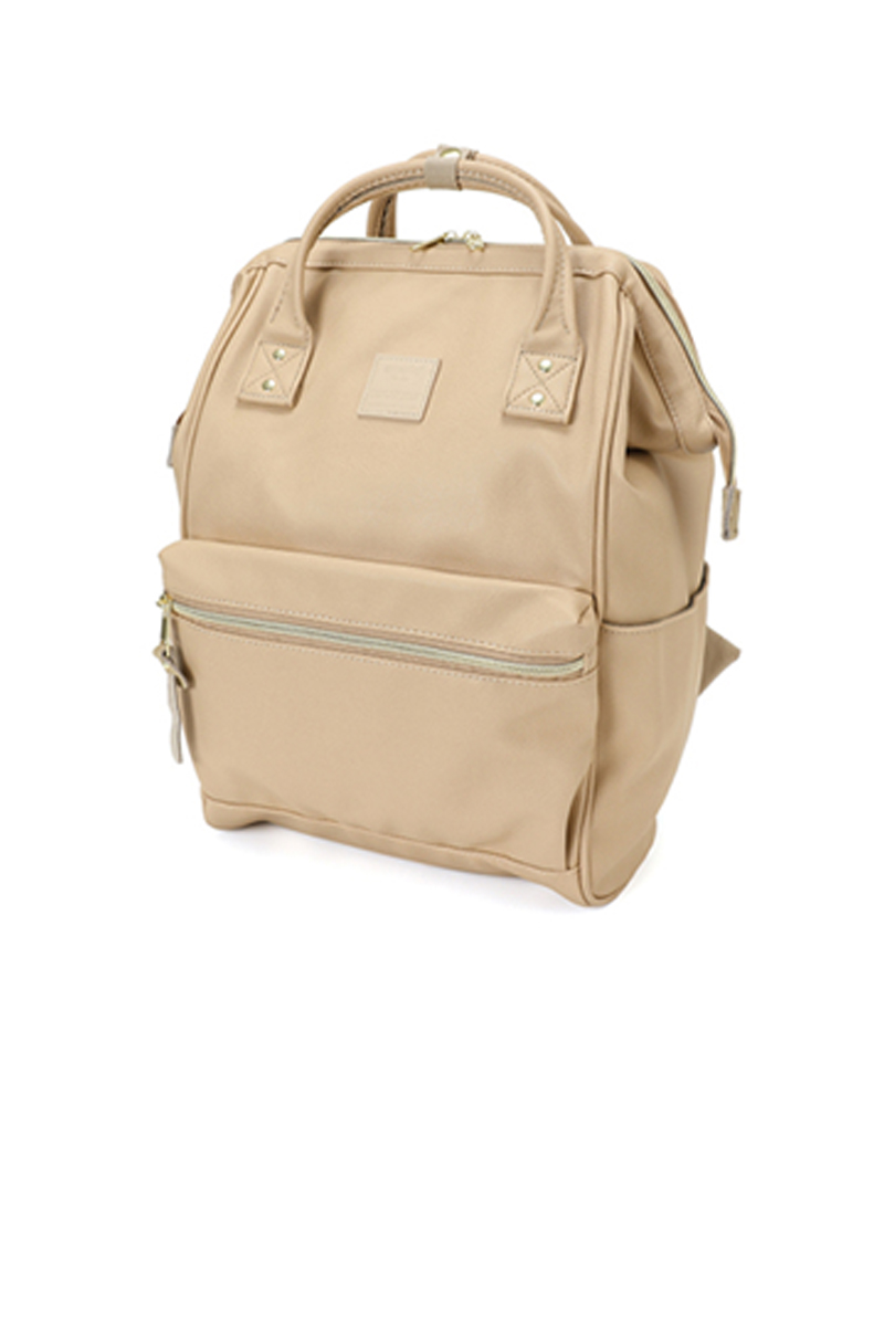 ANELLO REG SYNTHETIC LEATHER MOUTHPIECE BACKPACK (AT-B1211_BE)