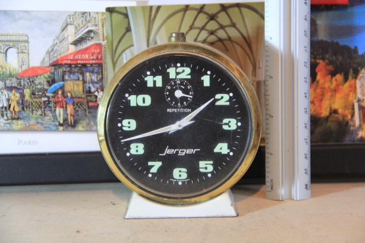 N0268 นาฬิกาปลูก Jerger Repetition เดินดีปลุกดีครับ (ราคารวมค่าส่งแล้วครับ ซื้อหลายชิ้นสามารถลดได้ครับ :))