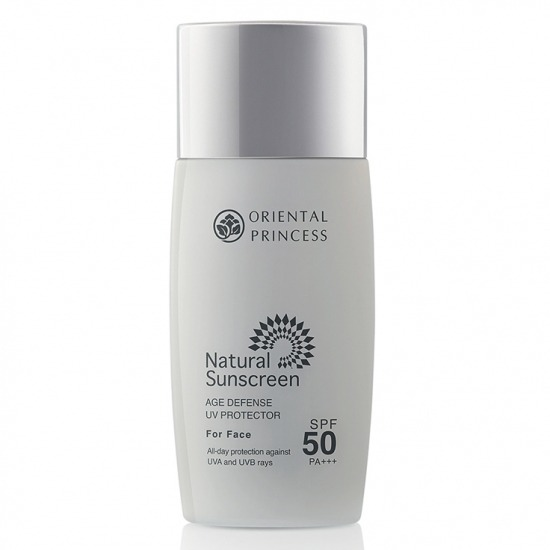 Oriental Princess Natural Sunscreen Age Defense UV Protector For Face SPF 50 PA +++