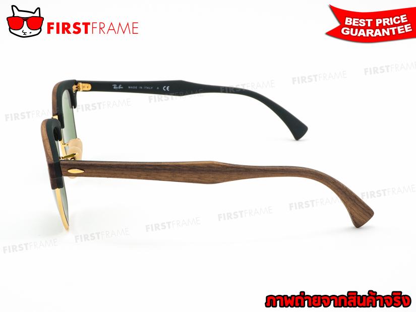แว่นกันแดด RayBan RB3016M 1182/4E CLUBMASTER WOOD3