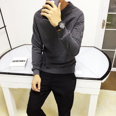 เสื้อแขนยาวแฟชั่นเกาหลี แต่งซิบแขนเสื้อ มี5สี