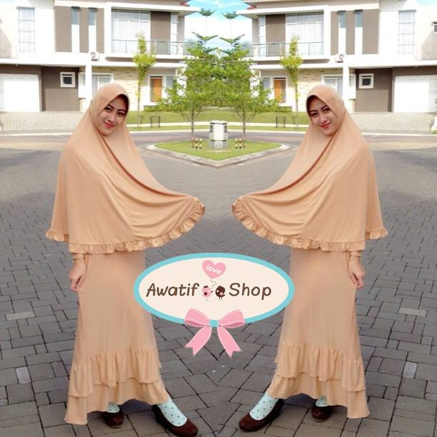 เดรส+hijab