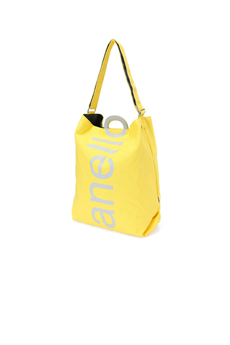 ANELLO A4 LIMITED COLOR AVAILABLE O HANDLE 2WAY TOTE BAG (AU-S0061_YE)