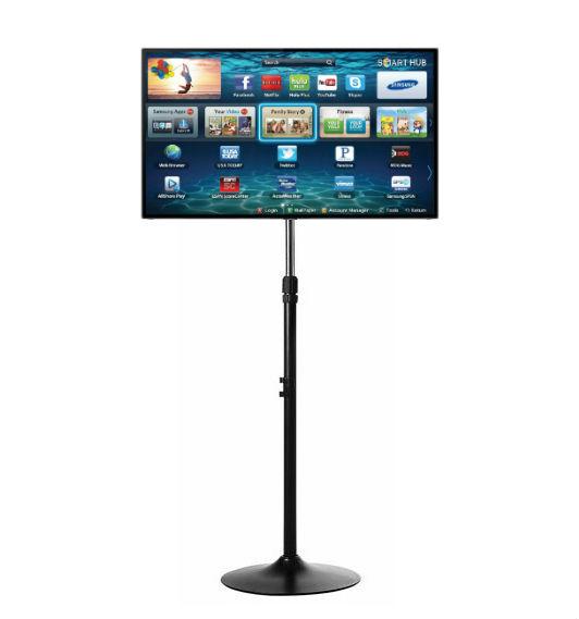 ขาตั้งทีวี LED/LCD แบบเสาเดียว เหล็กแข็งAไม่โยกเยก (รองรับทีวี TV ขนาด 22-42 นิ้ว) 002117CDU