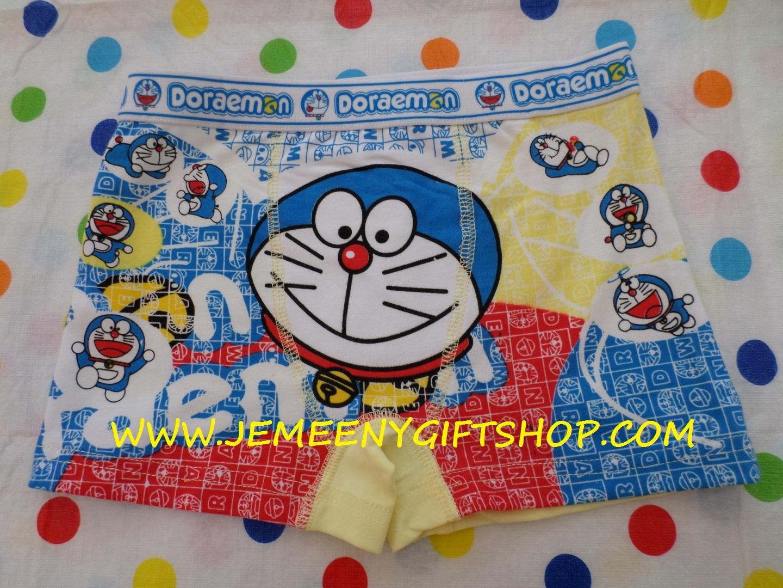 กางเกงชั้นในเด็กผู้ชาย แบบขาสั้น โดราเอมอน doraemon