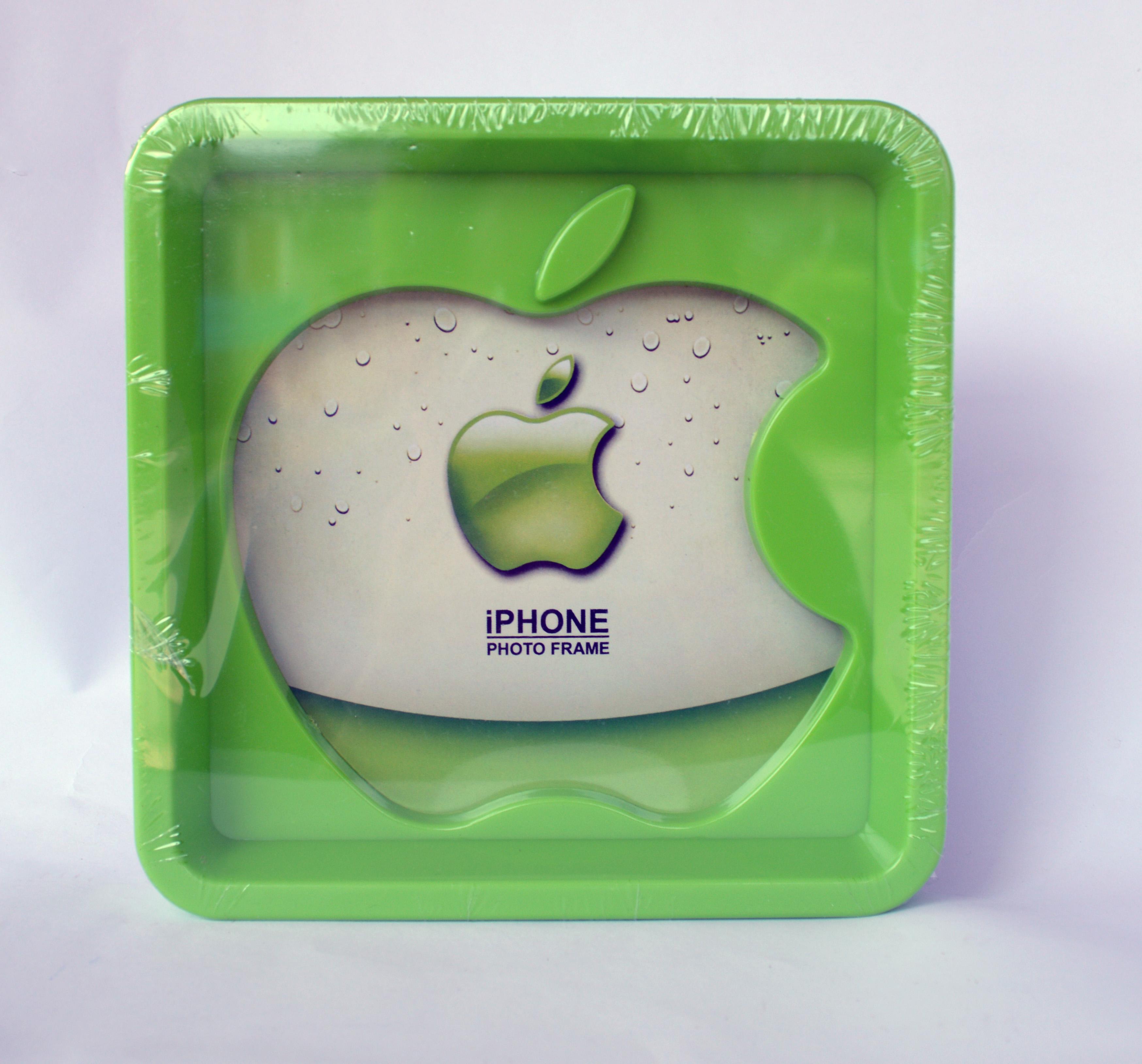 กรอบรูป apple สีเขียว ขนาด 18*18 ซม. รหัส 1692
