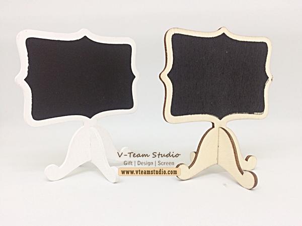 กระดานดำตั้งจิ๋ว 8.3*6 cm (5 ชิ้น)