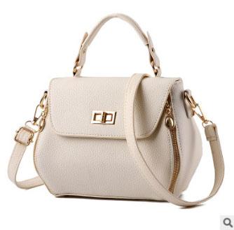 Pre-order กระเป๋าผู้หญิงถือและสะพายข้างแฟชั่นสไตล์เกาหลี รหัส KO-991 มีหลายสีให้เลือก