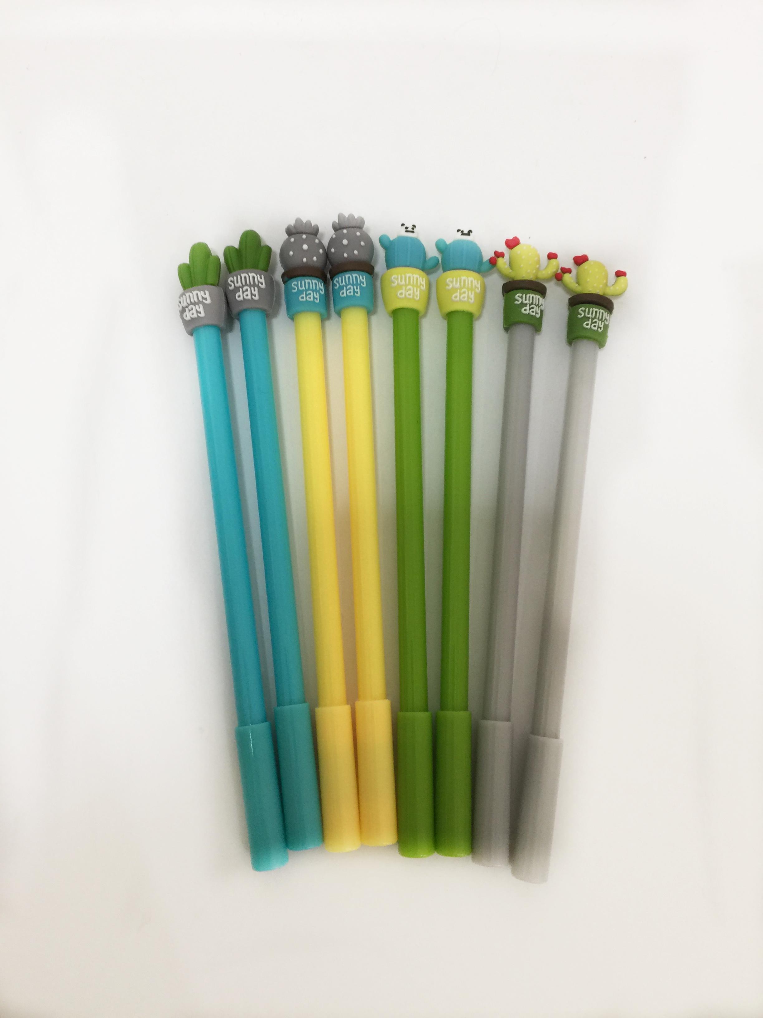 ปากกาเจลกระบองเพชร (แพ็ค 12 ด้าม)