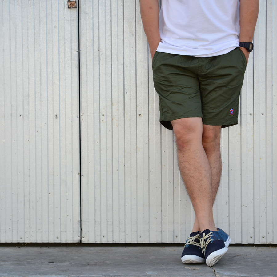 กางเกงขาสั้น BFactory (สีเขียวขี้ม้า)