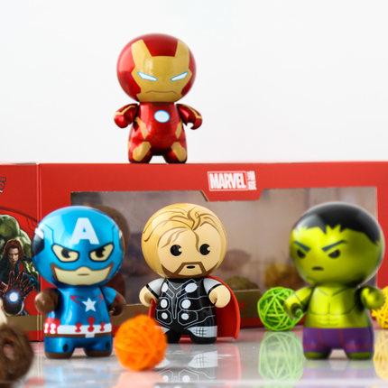 โมเดลพวงกุญแจ The Avengers 4 ตัว/ชุด (ของแท้ลิขสิทธิ์)