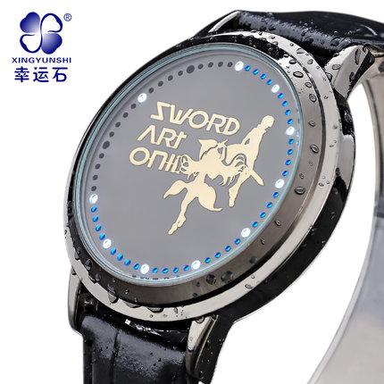 นาฬิกา LED จอสัมผัส SAO สีดำ (ของแท้)