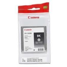 Canon PFI-102BK ตลับหมึกอิงค์เจ็ท สีดำ Black Original Ink
