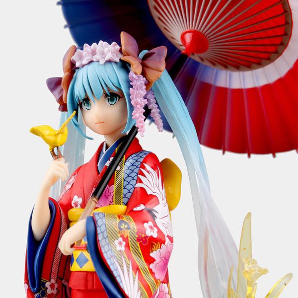 Vocaloid - Hatsune Miku - 1/8 - Hanairogoromo Figure