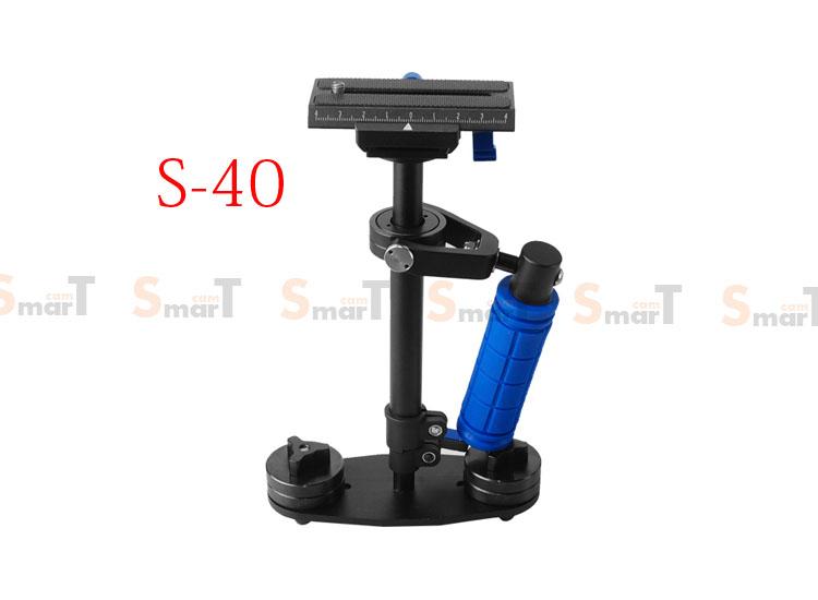 S-40 Handheld Stabilizer 0-3KG Flycam Steadycam Steadicam Video Camera
