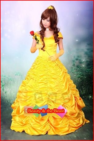 ชุดเจ้าหญิงเบล @ Beauty & the Beast