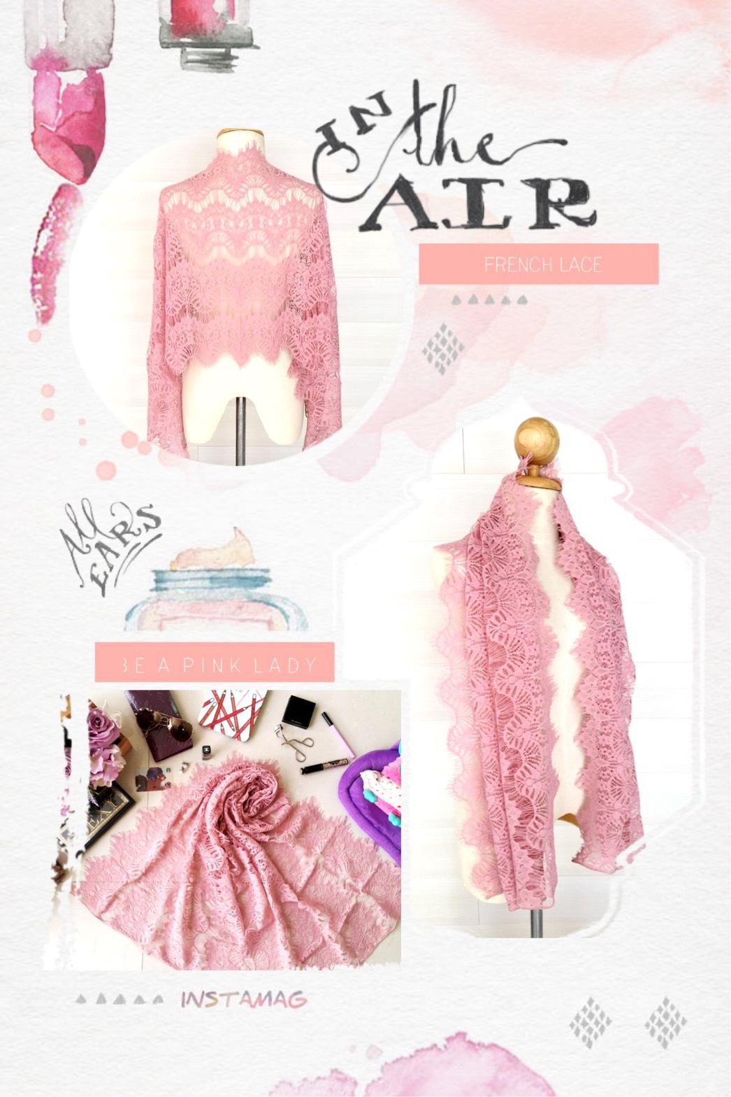 ผ้าคลุมไหล่ พร้อมกล่องของขวัญ รุ่น Delicated French Lace in Lotus Pink (Size M) ผ้าพันคอ ผ้าคลุมไหล่ลูกไม้ฝรั่งเศสสีชมพูกลีบบัว สีสวยมาก งานอลังการ สวยหรู เพอร์เฟคสุดๆ ลายเส้นลายดอกไม้มีช่องระหว่างกัน สวยงาม สามารถคลุมไปออกงานได้อย่างเก๋ๆ เลยค่ะ ผ้าพันคอ