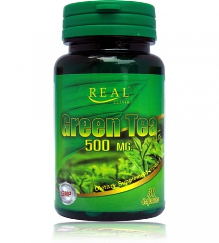 Real Elixir Green tea plus 500mg