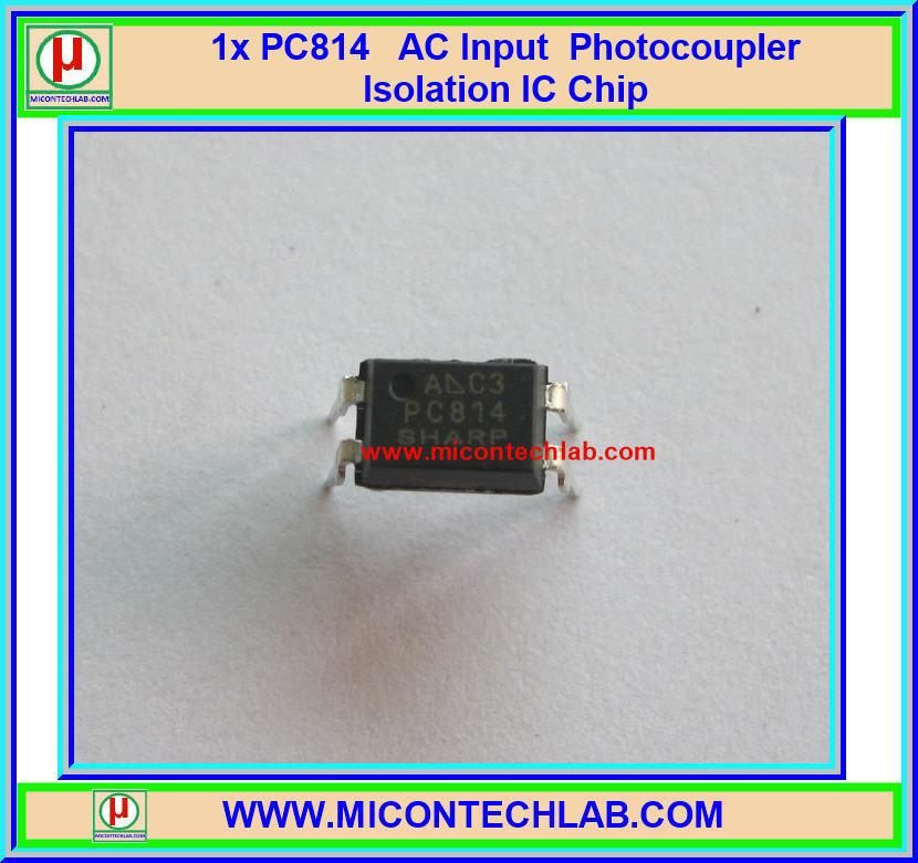 1x PC814 AC Input Photocoupler IC Chip from SHARP