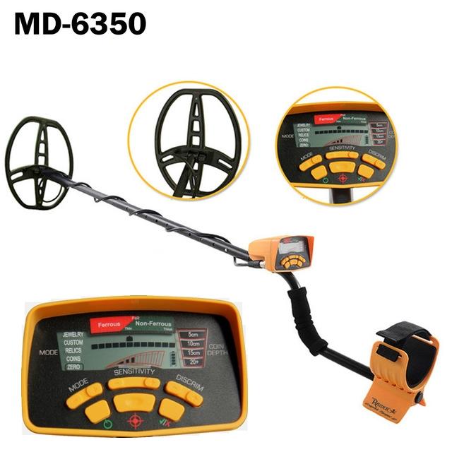 เครื่องตรวจจับโลหะ หาทอง MD-6350 (RAIDER METAL DETECTOR)